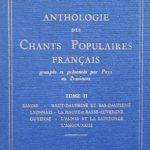Chants populaires français